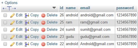 tutorial android database mysql android create user registration form with php mysql