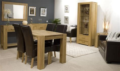 Modern Dining Room Table Sets by Pemberton Solid Modern Oak Hallway Furniture Console Hall