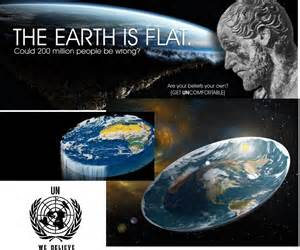 flat earth the earth is flat the student room