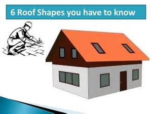 Different Roof Shapes 6 Roofing Shapes You To