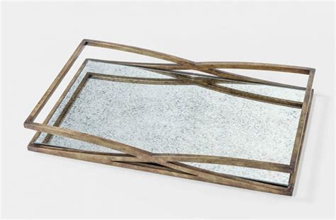Mirrored Coffee Table Tray by Gold Mirrored Coffee Table Tray Reversadermcream