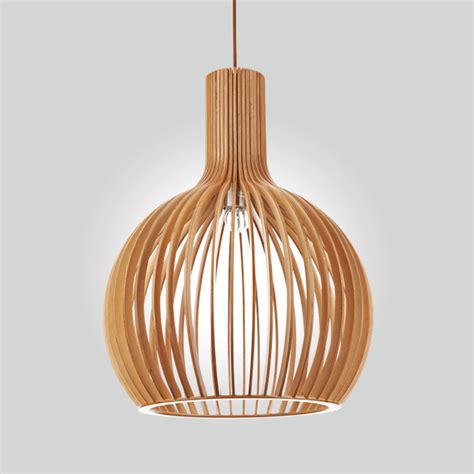 Wooden Light Pendant Wooden Pendant Lights Roselawnlutheran
