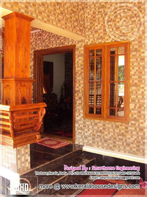 square feet completed house  kerala kerala home