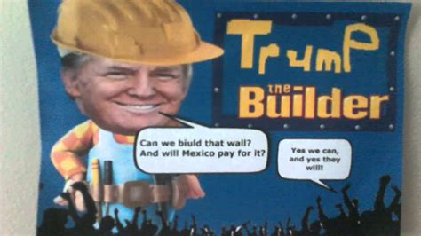 donald trump x bob the builder wake up with trump the builder youtube