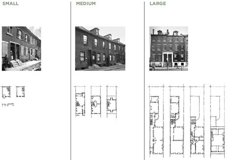 philadelphia row house floor plan 301 moved permanently