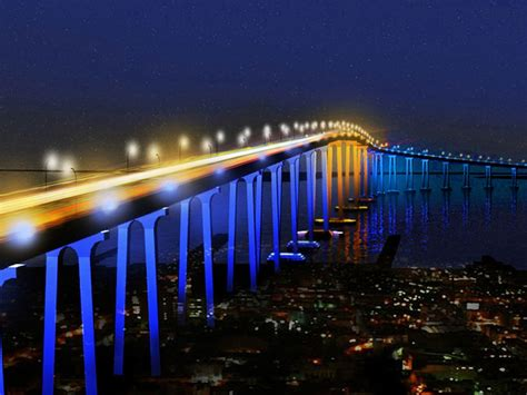 California Lighting by Wordlesstech Coronado San Diego Bridge