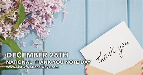 thank you letter for day national thank you note day