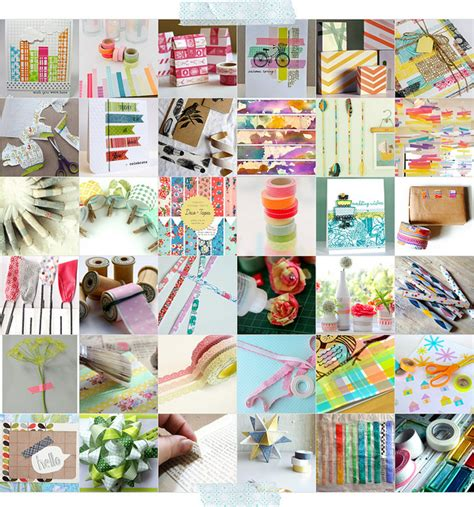 uses for washi tape diy book page washi tape