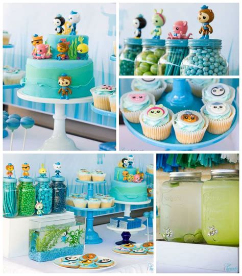 Octonauts Decorations by Octonauts Themed Birthday Ideas Decor Planning