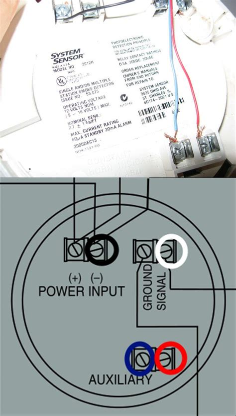 wiring diagram for a smoke detector alarm wiring smoke