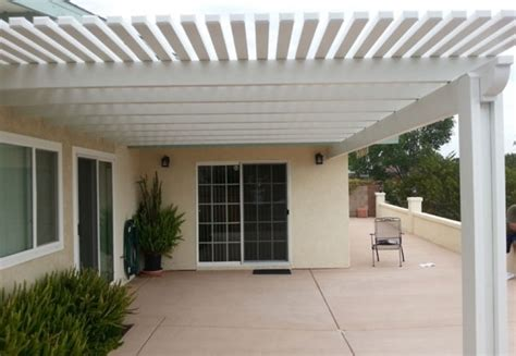 Awnings In San Diego by Patio Cover Aluminum Aluminum City San Diego Ca Gallery