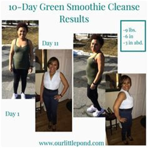 Fruit Flush 3 Day Detox Results by 10 Day Green Smoothie Cleanse Weight Loss Before And