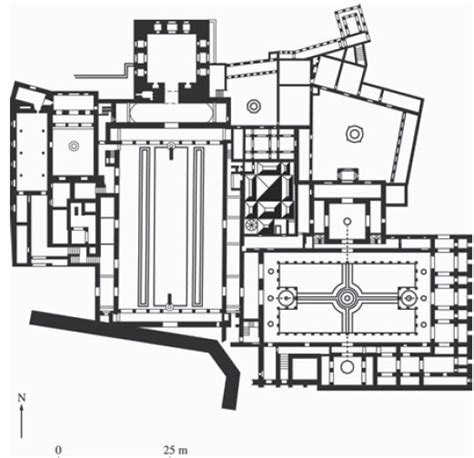 Alhambra Plan by Plan Alhambra Palace Granada Spain Nasrid Dynasty