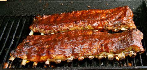 bbq ribs on the grill recipe dishmaps