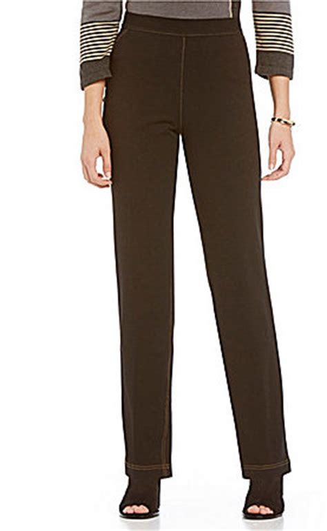 comfort knit jeans allison daley pull on straight leg comfort knit jeans