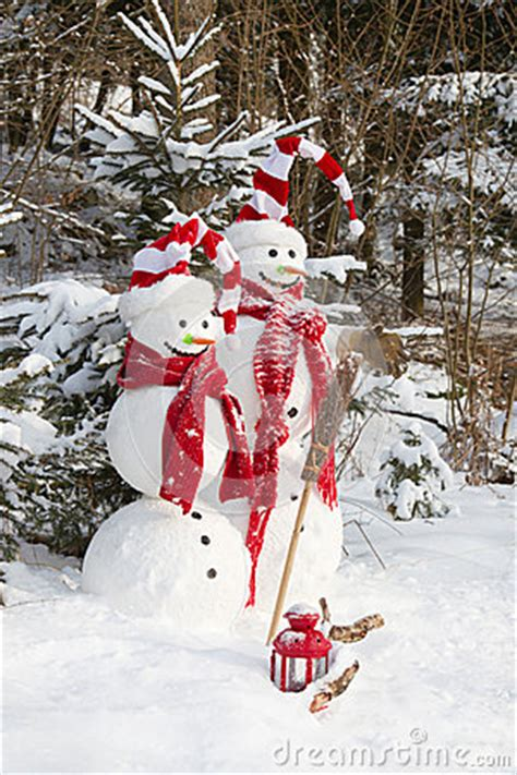what to get art loving couple for xmas snowman in outdoor decoration with snow royalty free stock photo image