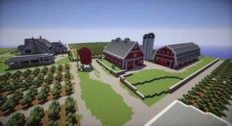 Minecraft Farm House by Farm House And Barns Minecraft Building Inc