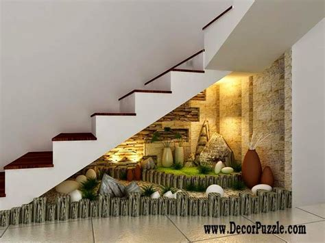 Decorating Small Houses Innovative Planing Under Stairs Ideas And Storage