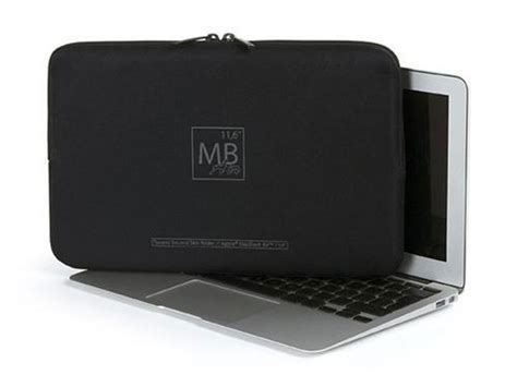Second Macbook Air 11 Inch tucano second skin elements sleeve voor macbook air 11 inch