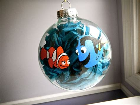 ornement set finding dory finding nemo inspired ornament disney pixar dory and marlin disney cars and