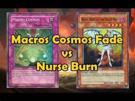 macro cosmos fade vs nurse burn youtube