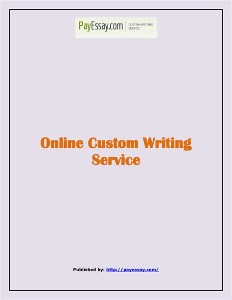online custom writing service by wigeonper issuu