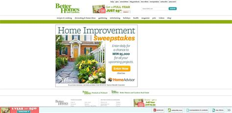 home improvement sweepstakes bhg homeimprovementsweeps bhg home improvement sweepstakes