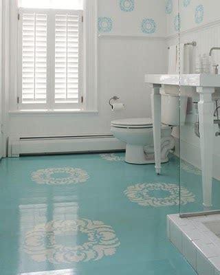 painted bathroom floor painted bathroom floors on pinterest 1950s bathroom
