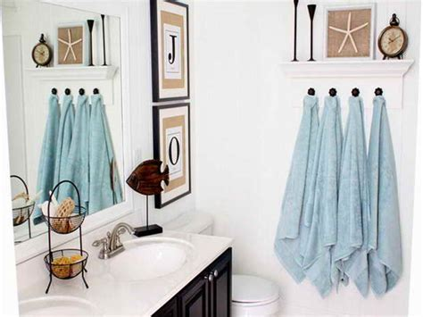 coastal bathroom decorating ideas bathroom d 233 cor quick bathroom decorating on a budget