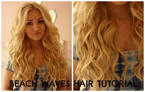 hair tutorial wand beach waves hair tutorial curling wand perfect victoria