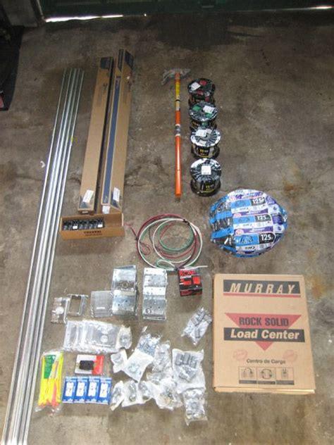 garage subpanel installation emt electrical diy