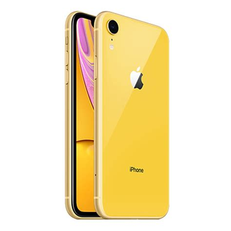 apple iphone xr dual sim 256gb 4g lte yellow facetime itshop ae