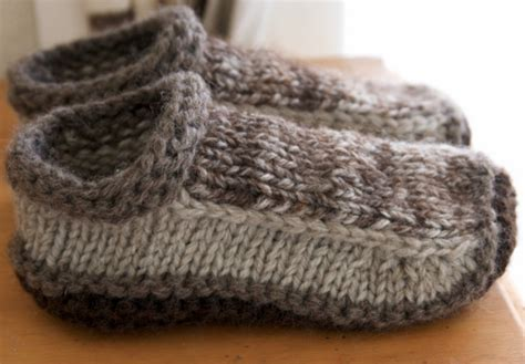 how to make knitted slippers unisex crochet slippers free pattern ideas you ll
