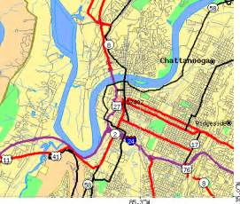 Chattanooga Zip Code Map by 37402 Zip Code Chattanooga Tennessee Profile Homes