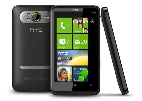 htc phone htc embrasse windows phone 7 avec 5 smartphones m 224 j