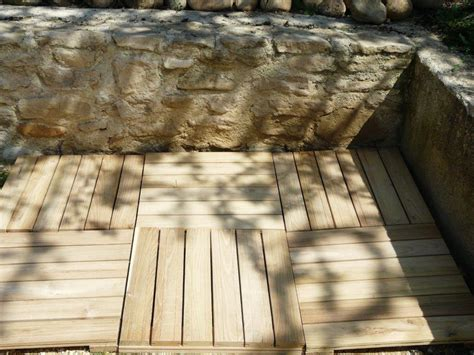 Terrasse Chataignier Avis by Caillebotis Robinier Faux Acacia En Kit Acheter Au