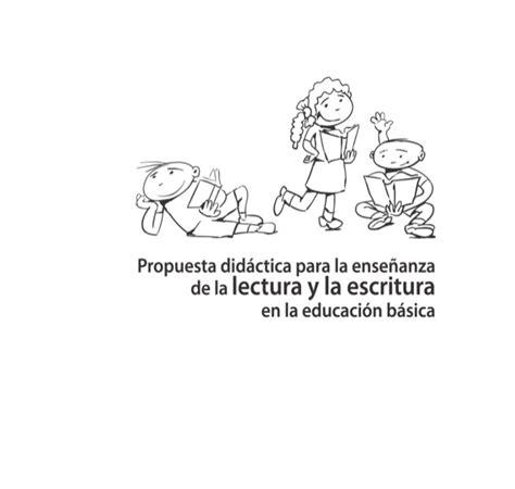 situacion didactica para fomentar la lectura en preescolar propuesta did 225 ctica para la ense 241 anza de la lectura y la