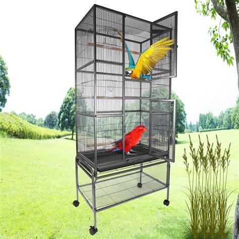 gabbia per parrocchetti 69 quot voliera gabbia per uccelli canarini calopsiti