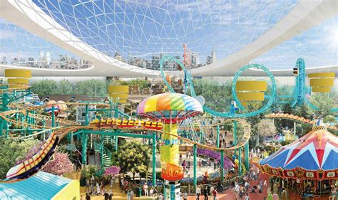 theme park news nickelodeon universe theme park coming to american dream