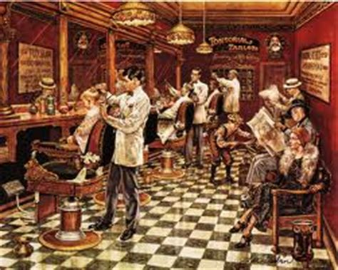 history of traditional barber shop the london school of