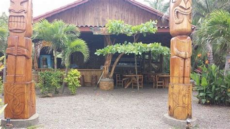 Tiki Hut Marbella View Of The From Inside Tiki Hut Picture Of Tiki