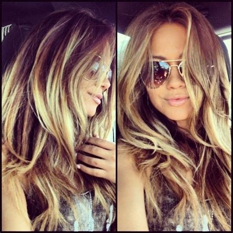 summer hair highlights this needs to happen next summer dark brown with bright