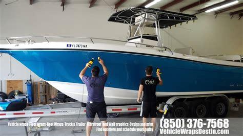century boats destin fl century boat color change wrap 10 4wraps vehicle wraps