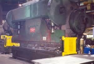 Mechanical Press Brake Guarding Systems Welcome To Jm Engineering Osha Press Brake Guarding