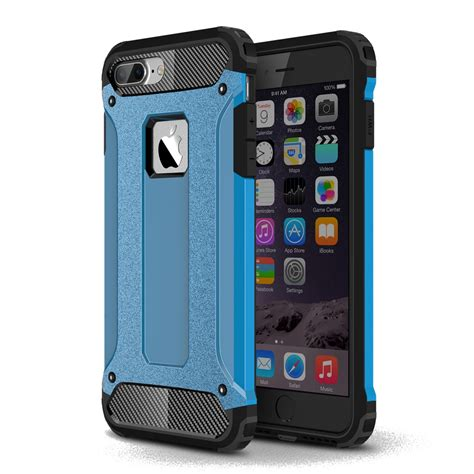 iphone 7 plus hybrid dual layer tough armor skyblue pdair 10