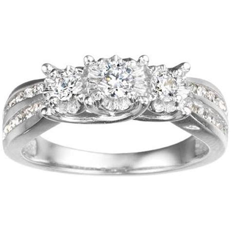 white gold wedding rings for cheap fashion