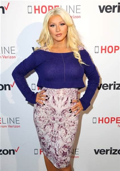 Aguilera Poses For In Revealing About Babies by Aguilera Opens Up About Motherhood We All