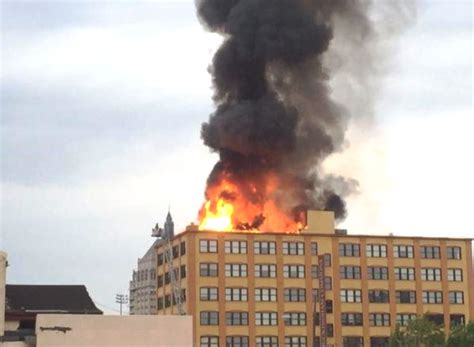 house fire rochester ny update raw video radio traffic from 4 alarm high rise fire in rochester ny