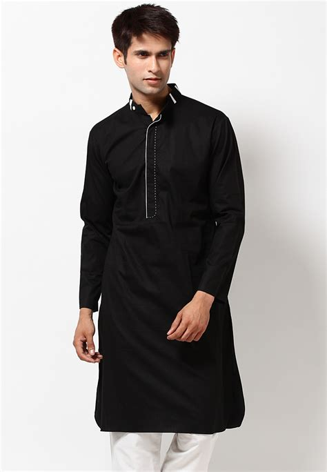 kurta back pattern pics for gt black kurta patterns for men