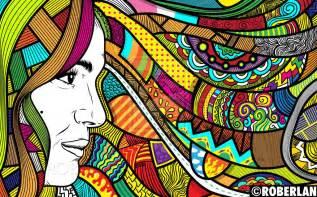 wallpaper coretan abstrak cara membuat doodle art bagi pemula fariskanurzamanmulyana